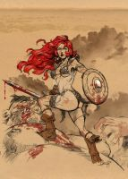 Red Sonja jam by mistermoster