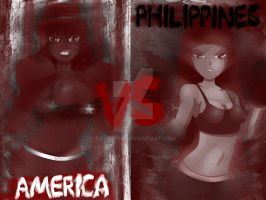 La Pelea del Siglo: Estados Unidos vs Filipinas by Dougieus