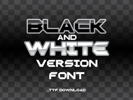 Pokemon Black and White Version Font by MaurizioVit