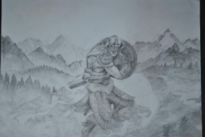 Skyrim Drawing by Swaal