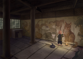 The Boy Who Drew Cats by kGoggles