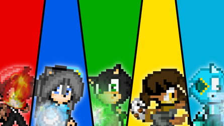 All Teams is to be Freedom! (Sprite Version) by SuperShadeMario