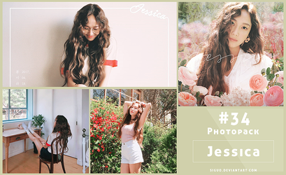 #34 Photopack- Jessica [It's Spring] 18P by Siguo