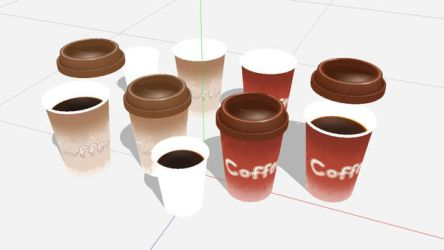 Coffee Cups by mmdcollection
