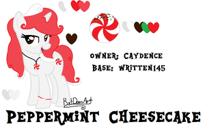 {Custom Commission} Peppermint Cheesecake by KatDoesArt