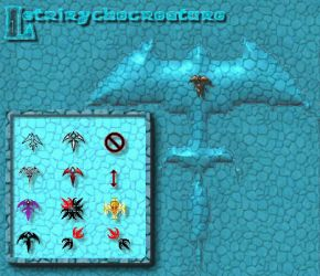 Triryche cursors 6 by rycher