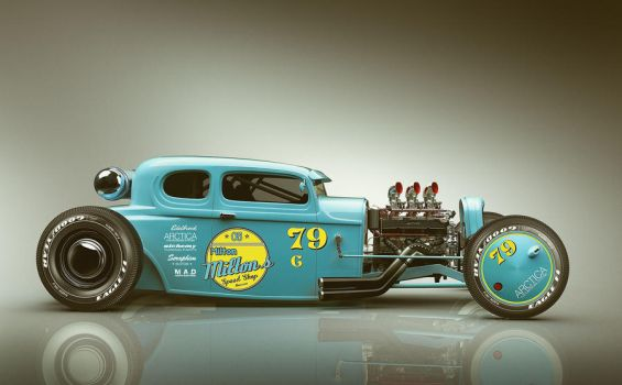 THE 79 COUPE - RACE by MikaelLugnegard