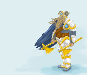 demacian olaf by chinqchucknorris