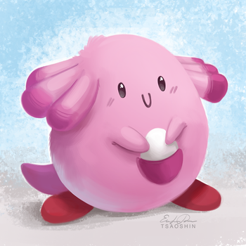 113 - Chansey by TsaoShin