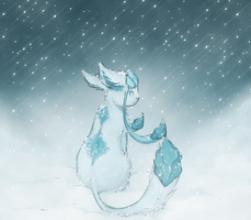 Glaceon by TheFlyingDead