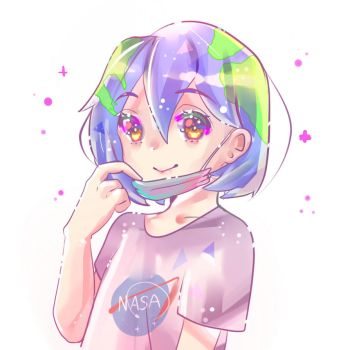 Earth-chan by Hisiyana