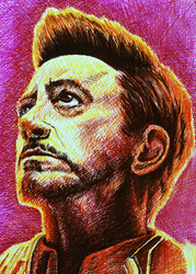 Infinity Iron Man by tripperfunster