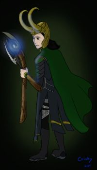 Loki Request by Cricky-Vines