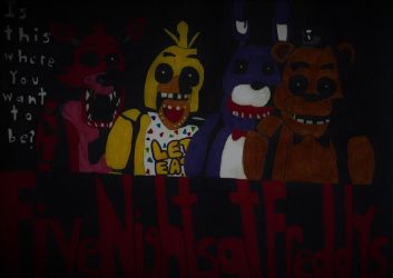 Five Nights at Freddy's comic teaser by robotman25