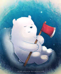 We Bare Bears - Baby Ice Bear by Brian-Rousette