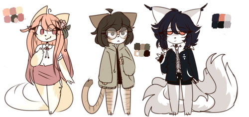 SKETCH ADOPTS [CLOSED!] by honyhonn