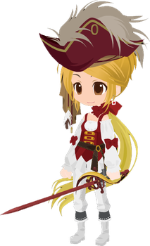 Free Selfy adoptable pirate. by craftytexangirl