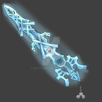 The Future is Ours Keyblade by Mitch-Kun