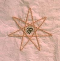 embroidery- 7 point star by emortalcoil