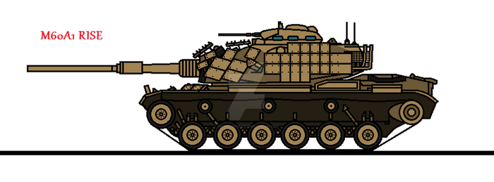 M60A1 RISE by thesketchydude13
