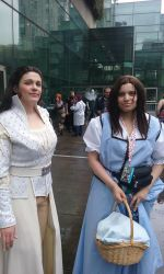 ECCC 2017-Snow White and Belle [OUAT] by SOULREAPER-AngelGirl