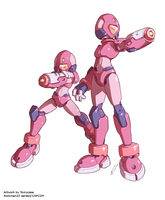 Rockman ZX3 : Galleons Prime (Centurions) by Tomycase