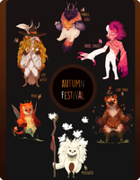 Autumn Festival Taum Auction[Closed!] by Happy-sorry