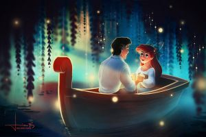 The Little Mermaid: Part of Your World by kelogsloops