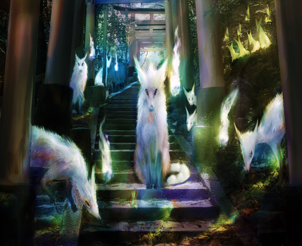 Fox spirit 2 by musane
