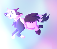 flying through the floof clouds by Chartayisokay