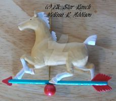 Currier n Ives Style Ornament by ElkStarRanchArtwork