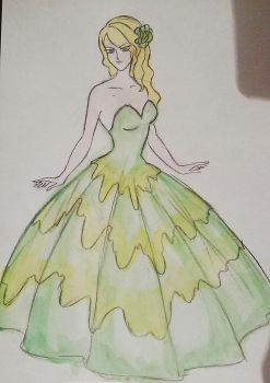 Fashion model by Paut-Tina