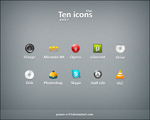 Ten Icons pack2 by Power-O-F-F