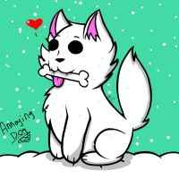 Annoying Dog (Undertale) by YaoiLover113