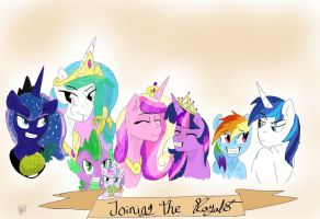 Joining The Royals by DAStallions