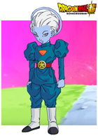 Whis' Father: Daishinkai A.K.K the Grand Priest by ShinLightning