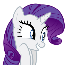 Rarity - Excited by Ocarina0fTimelord