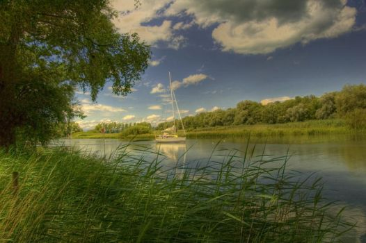 Old Rhine HDR by indieaner