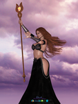 Celtic Sorceress by DaveAgain