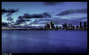 The Blue Hour by JoeBostonPhotography