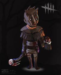 Dead by Daylight - Smol Wraith by Zinrius