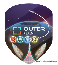 Outer Realm Flag by TechTalkPony
