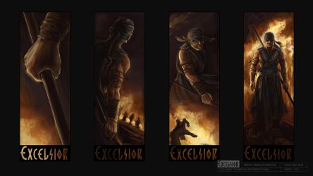 Excelsior Character Teasers by NightWish666