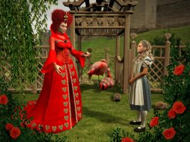 Queen of Hearts by ravenscar45