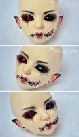 Face-Up Shadow (Maskcatdoll Evelyn mod) by prettyinplastic