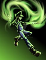 green fire by Know-Kname