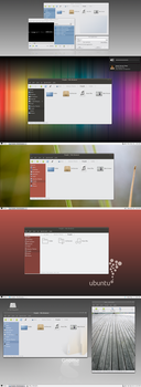 Victory Gtk Theme Screenshot Graveyard by NeWhoa