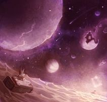 Tavern-Uncharted waters and stars and planets... by SamwiseDidier