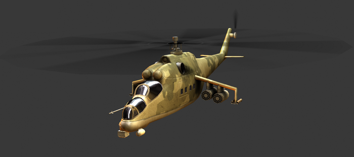 Mil Mi-24 Hind Colour 2 by Fewes