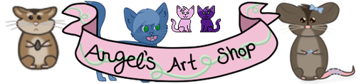 angel's art shop banner by angel-does-art
